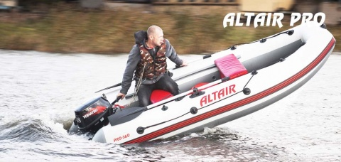 Надувные лодки ПВХ производства ALTAIR - серия PRO
