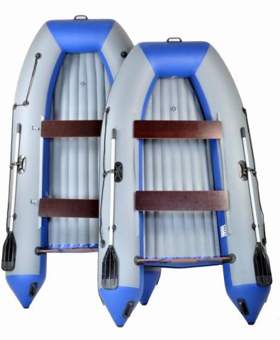 Лодки ПВХ Reef с надувным дном низкого давления (НДНД)