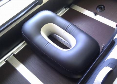 Надувной овальный пуф для лодки ПВХ