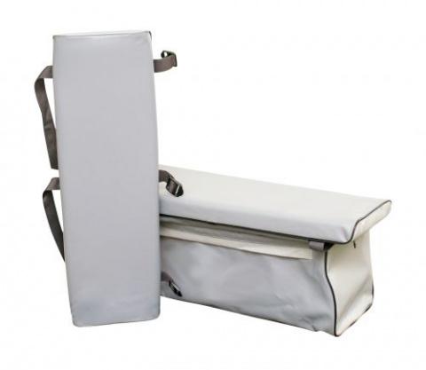 Комплект - две накладки на банки и сумка