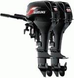 Двухтактные лодочные моторы Suzuki