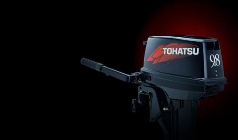 Двухтактные лодочные моторы Tohatsu
