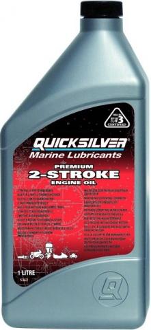 масло для двухтактного лодочного мотора квиксильвер