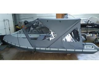 Тент КОМБИ на Stel R-450 РИБ