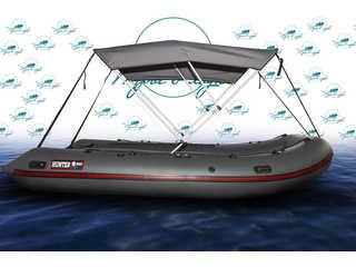 Биминитоп(Тент-крыша) на лодку ПВХ 340-380