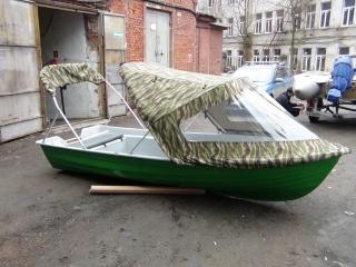 Тент трансформер на лодку Шарк 255