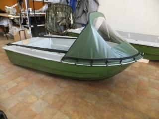 Носовой тент на лодку Шарк 255