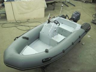 Лодка РИБ Буревестник Б-390