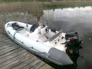 Лодка РИБ Буревестник Б-450