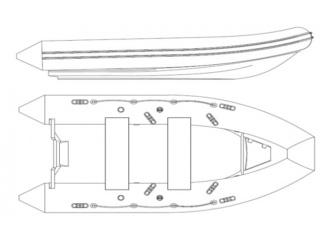 Лодка РИБ Скаут C-380