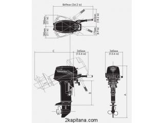 Лодочный Мотор Tohatsu (Тохацу) M9.9D2 S