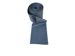 Привал днищевой ПВХ 235 мм серый
