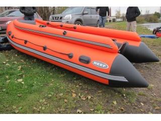 Лодка ПВХ Reef Тритон 390F НД