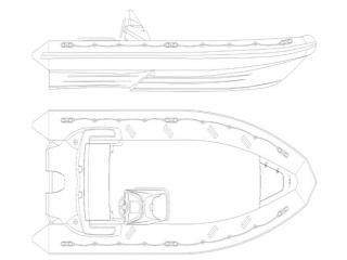 Лодка РИБ Буревестник Б-630