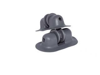 Роульс малый (якорный ролик) серый