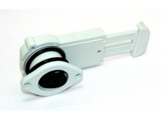 Сливной клапан для лодки ПВХ с затвором, под фанеру 22-28 мм, серый
