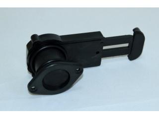 Сливной клапан для лодки ПВХ с затвором, под фанеру 34-40 мм, чёрный