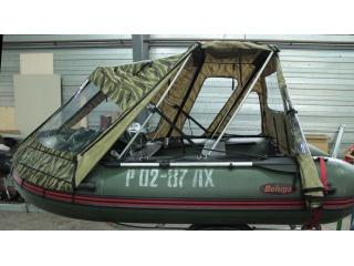 Тент трансформер на лодку ФРЕГАТ М390