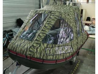 Тент трансформер на лодку КОРСАР КОМБАТ 380