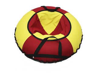 """Надувная ватрушка для катания """"Эконом"""", диаметр 100 см., красная."""