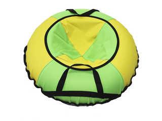 """Надувная ватрушка для катания """"Эконом"""", диаметр 100 см., зеленая."""