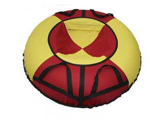 """Надувная ватрушка для катания """"Эконом"""", диаметр 110 см., красная."""