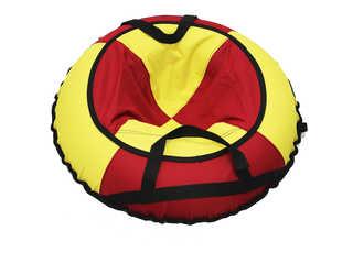 """Надувная ватрушка для катания """"Эконом"""", диаметр 70 см., красная."""