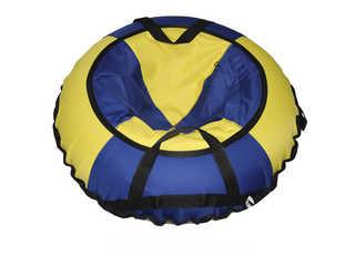 """Надувная ватрушка для катания """"Эконом"""", диаметр 70 см., синяя."""