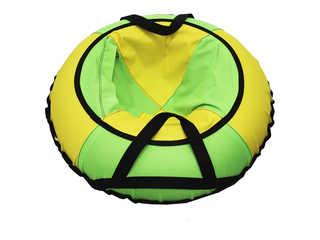 """Надувная ватрушка для катания """"Эконом"""", диаметр 70 см., зеленая."""