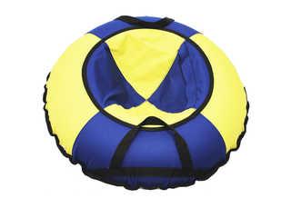 """Надувная ватрушка для катания """"Эконом"""", диаметр 80 см., синяя."""