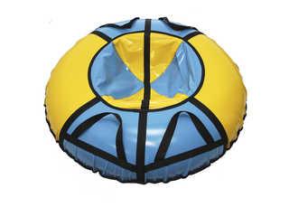 """Надувная ватрушка для катания """"Стандарт"""", диаметр 110 см., голубая"""
