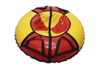 "Надувная ватрушка для катания ""Стандарт"", диаметр 110 см., красная"