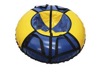 "Надувная ватрушка для катания ""Стандарт"", диаметр 120 см., синяя"