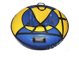 "Надувная ватрушка для катания ""Люкс ПРО"", диаметр 110 см., синяя"