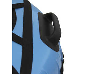 """Надувная ватрушка для катания """"Люкс"""", диаметр 110 см., голубая."""