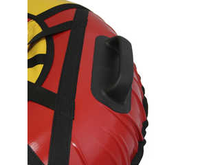 "Надувная ватрушка для катания ""Люкс ПРО"", диаметр 120 см., красная"