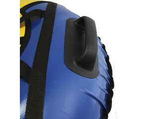"Надувная ватрушка для катания ""Люкс"", диаметр 110 см., синяя."