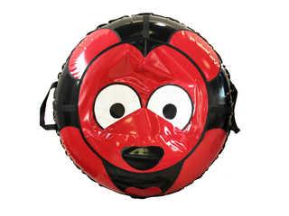 """Надувная ватрушка для катания серии """"Мишки"""", диаметр 110 см., Красная"""