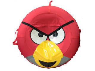 """Надувная ватрушка для катания серии """"Птички"""", диаметр 110 см., Красная"""