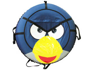 "Надувная ватрушка для катания серии ""Птички"", диаметр 110 см., Синяя"