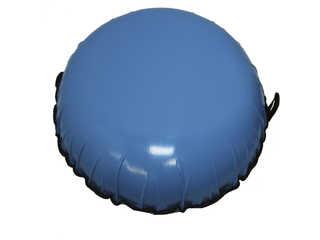 """Надувная ватрушка для катания """"Стандарт"""", диаметр 70 см., голубая"""