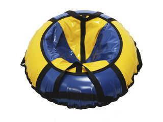 "Надувная ватрушка для катания ""Стандарт"", диаметр 70 см., синяя"