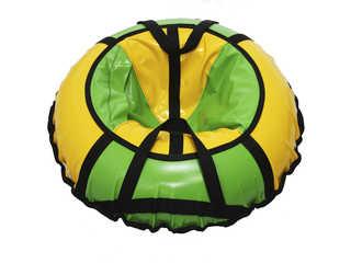 "Надувная ватрушка для катания ""Стандарт"", диаметр 70 см., зелёная"