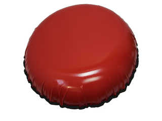 "Надувная ватрушка для катания ""Стандарт"", диаметр 80 см., красная"