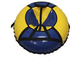 "Надувная ватрушка для катания ""Стандарт"", диаметр 90 см., синяя"