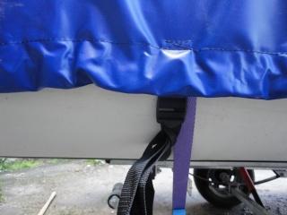 Транспортировочный тент на лодку X.RIVER 330