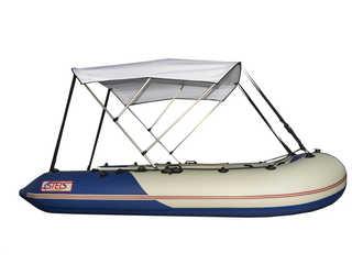 Биминитоп(Тент-крыша) на лодку пвх 280-330