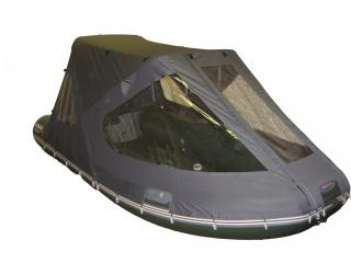 Тент трансформер на лодку БЕЛУГА Green 380