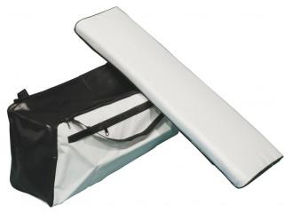 Накладка на банку с сумкой, длина от 60 до 70 см., ширина от 20 до 22 см.