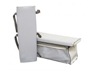 Комплект накладок на банку с сумкой, длина от 60 до 70 см., ширина от 20 до 22 см.